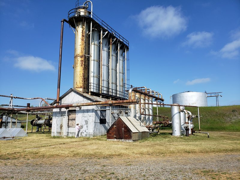 Turner Valley Gas Plant National and Provincial Historic Site