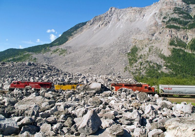 Frank Slide and Turtle Mountain