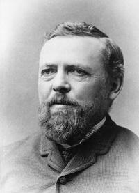 Portrait of William Pearce, circa 1880.